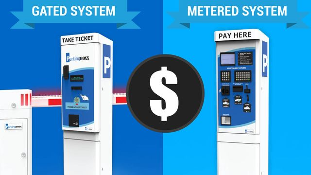 comparison of gated and metered parking system costs