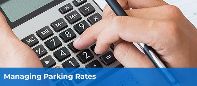 managing parking fees and rates to optimize revenue