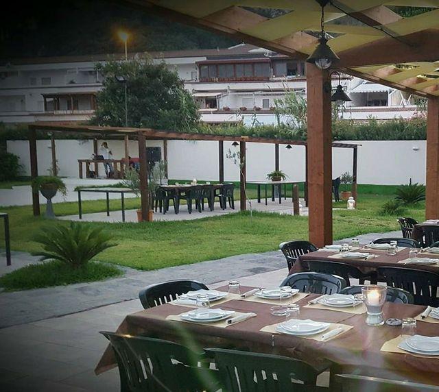 Terrazza del ristorante