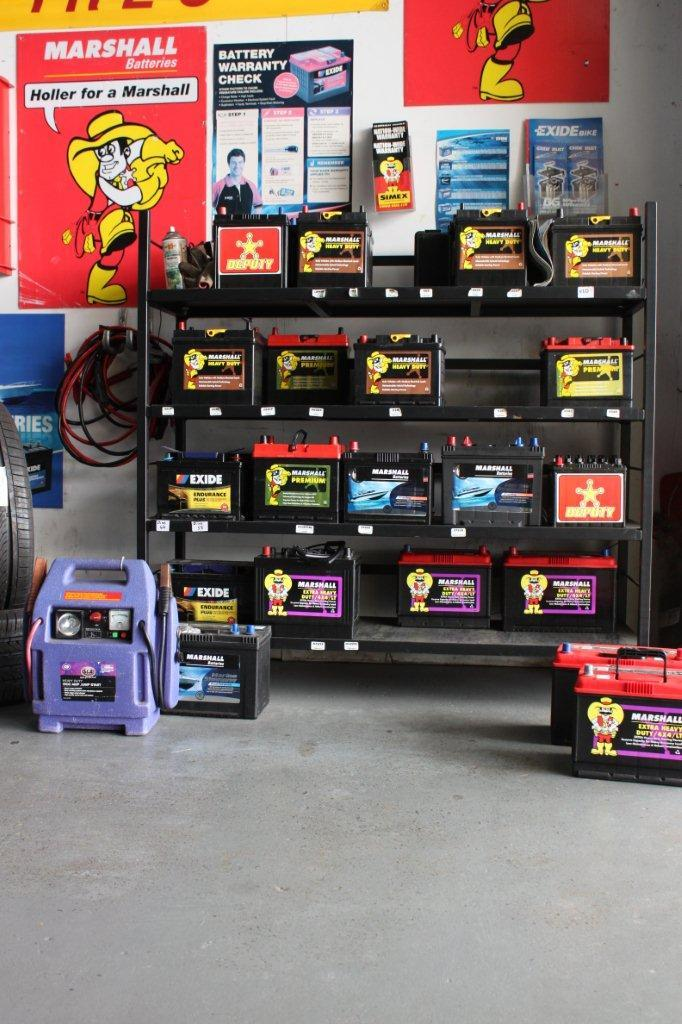 Top supplier of Marshall batteries in Tauranga
