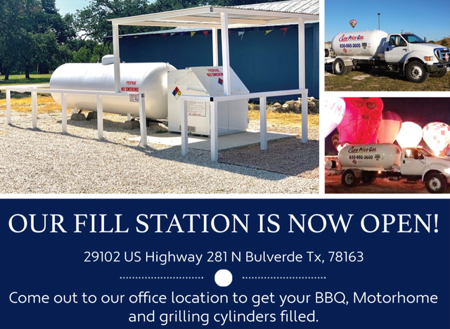 Reliable Propane Delivery in Bulverde, TX   Low Price Gas