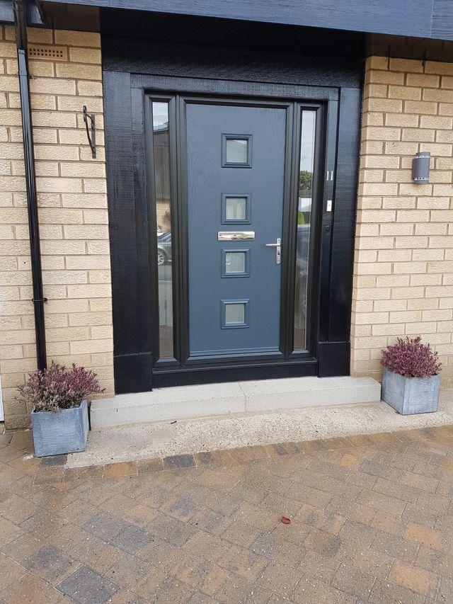 innovative design cf6aa da43d Truedor Leeds Composite Doors