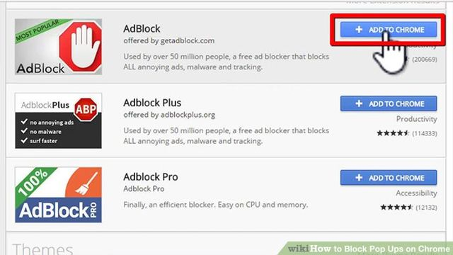 how could you disable pop up blocker on google chrome