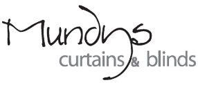 Mundys curtains & blinds logo