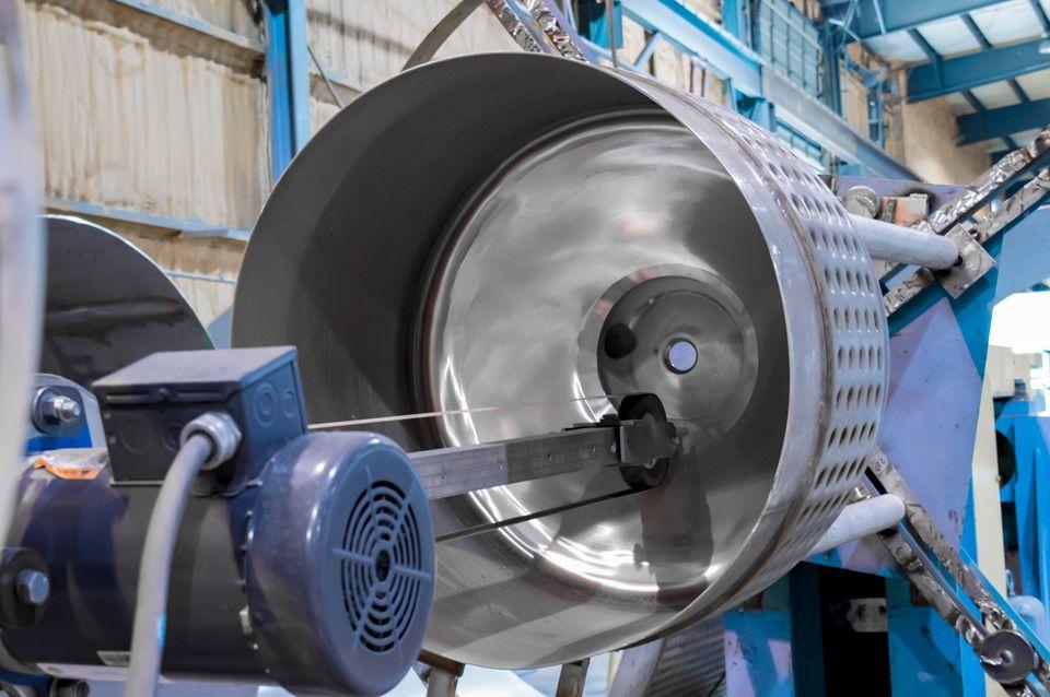 抛光不锈钢罐组件定制制造CMPI旋转ID OD压力容器搅拌机壳