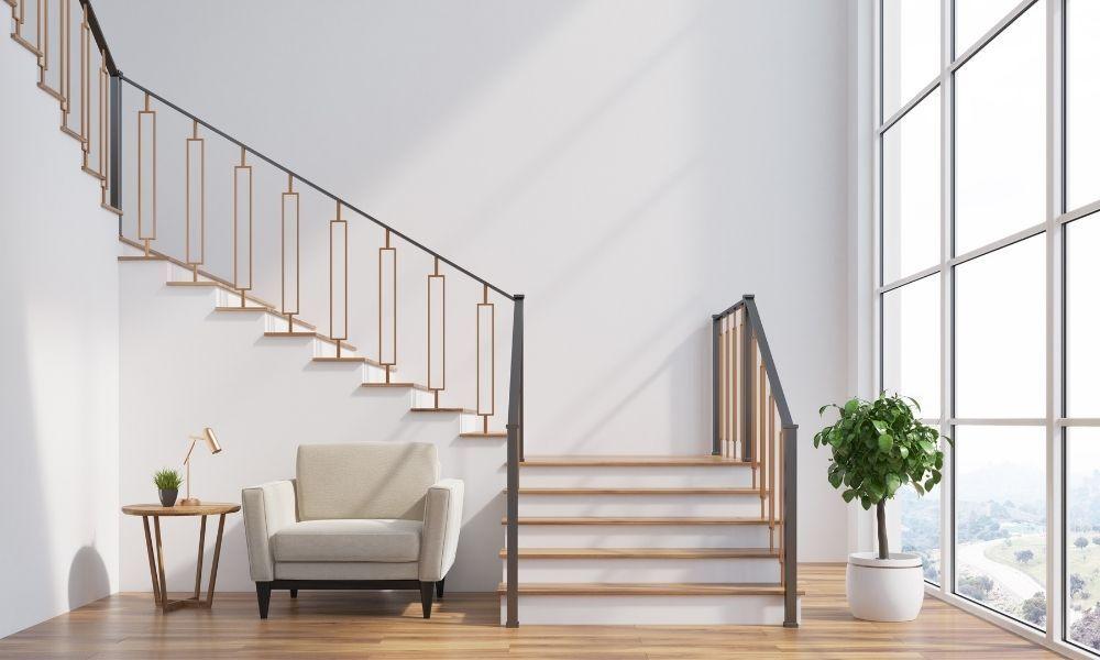 如何正确测量新栏杆的楼梯