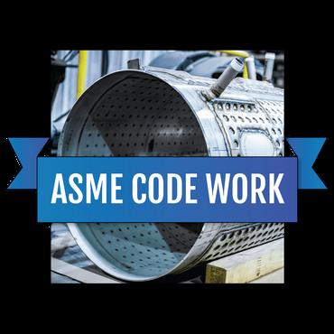 ASME代码认证焊接和制造