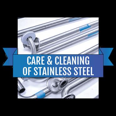 护理清洁维护不锈钢