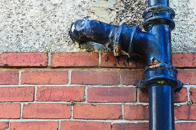 Old drain in need of repairs in Waitara