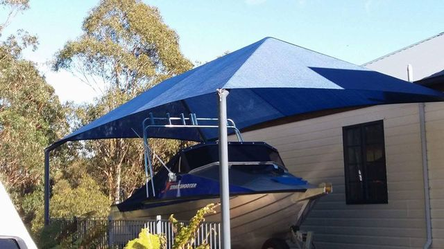 Nelson Shade solutions, sails, clear screens, pergola