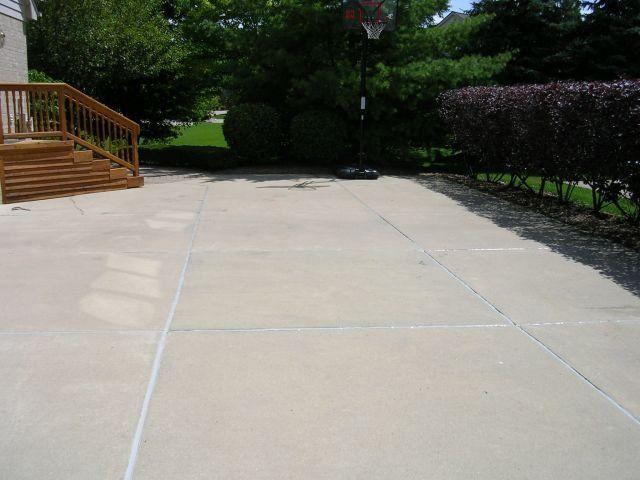 Irwin Concrete Leveling - After Caulking
