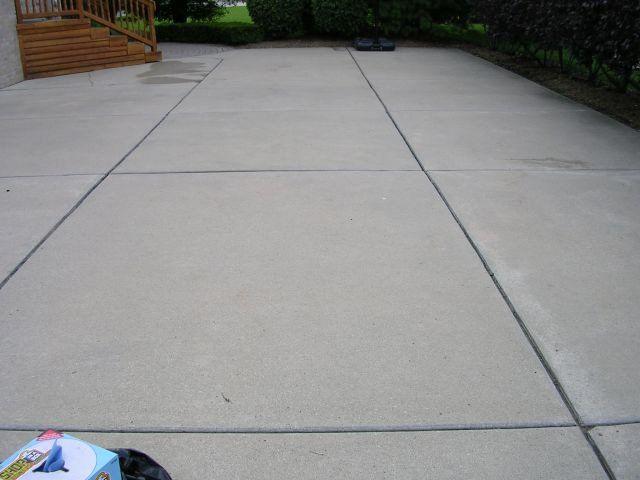 Irwin Concrete Leveling - Before Caulking
