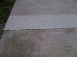 Irwin Concrete Leveling - After Scarifying / Grinding