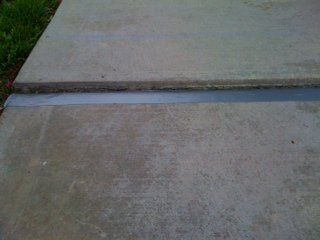 Irwin Concrete Leveling - Before Scarifying / Grinding