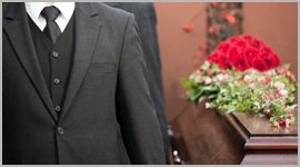 servizio funebre in divisa