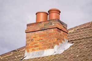 tiled roofing chimney installation