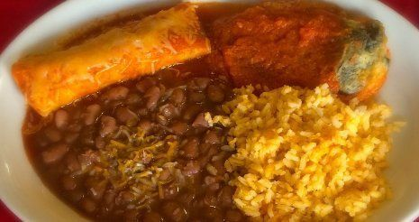 Best Enchilada and Chile Relleno at El Paso Cafe 94040