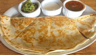 El Paso Cafe has the best quesadilla