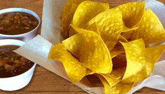 Fresh Chips and Salsa at El Paso Cafe 94040