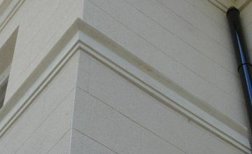 hard-wearing external cornices