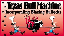 Texas Bull Machine Logo