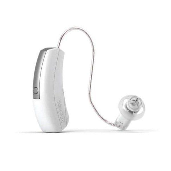 Apparecchio acustico bianco