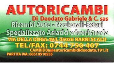 AUTORICAMBI DI DEODATO GABRIELE E C. sas logo