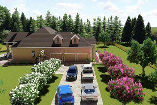 Custom Home Blueprint Fayetteville, NC
