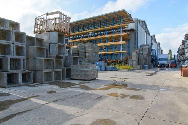 Panoramica di materiali edili