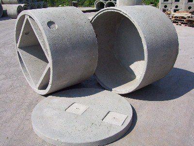due pozzetti in cemento