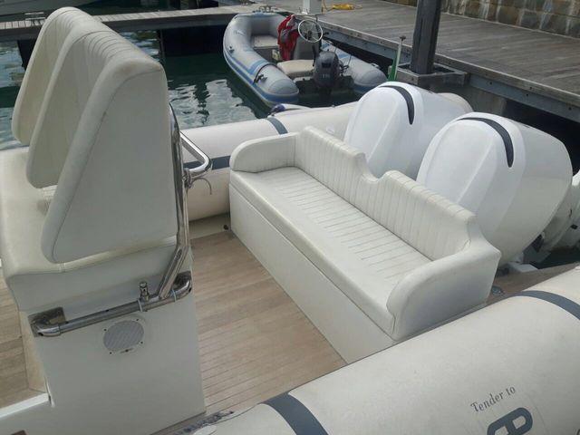 barca con divanetto