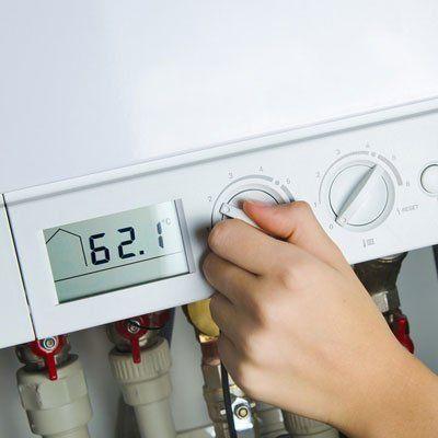 boiler temperature adjustment