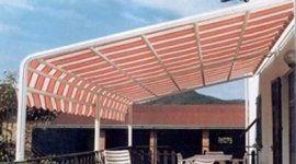 tende per terrazzi, tende per alberghi, tende per bar