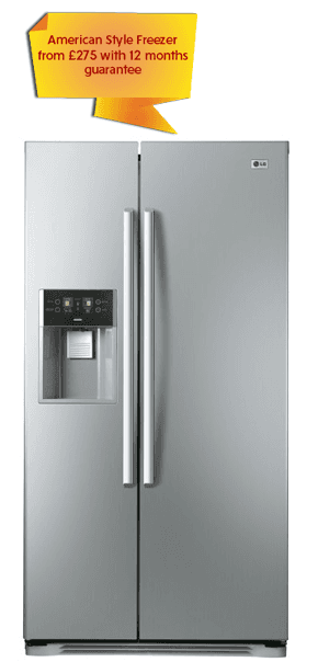 American Style Freezer from £275 with 12 months guarantee