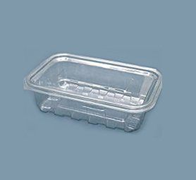 empty rectangular container