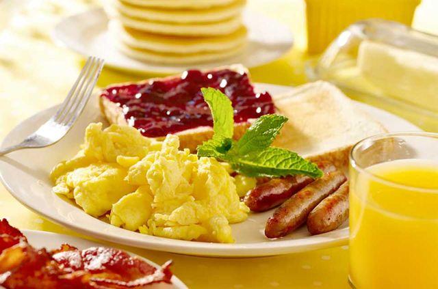 fresh made breakfast