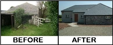 Barn Conversion Before and After