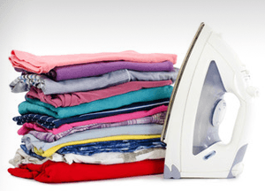neatly ironed clothes