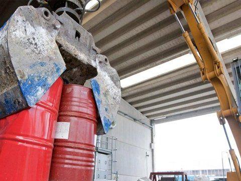 raccolta rifiuti tossici