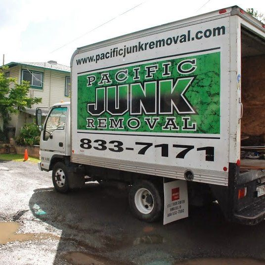 Our truck servicing customers in Honolulu, HI