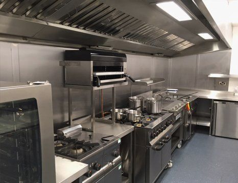 kitchen steel refurbishment service