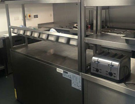 steel catering products