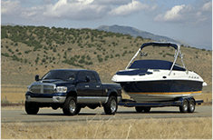 Traino roulotte  e barche