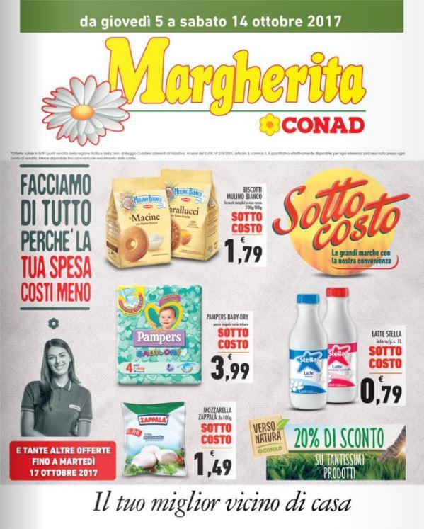 Volantino Conad Margherita