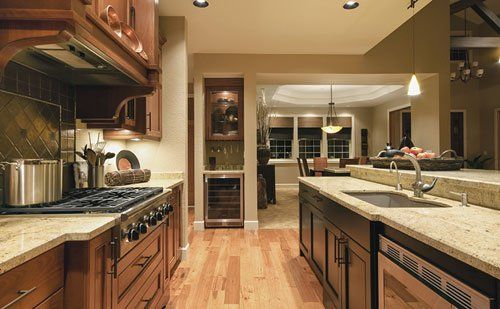 A finished kitchen in Eastchester
