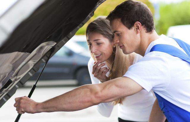 car inspection at an auto repair shop in Hinesville, GA