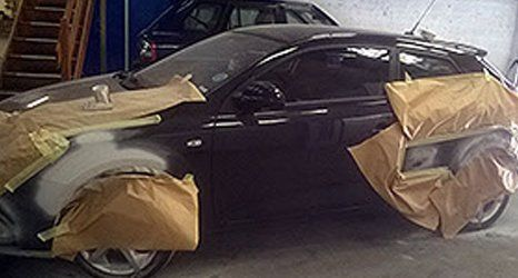 car taped