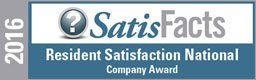 Resident Satisfaction National Company Award