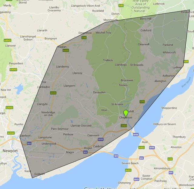 Map Of The Area Cj Locksmiths Cover For Locksmith Work And Garage Door  Repairs