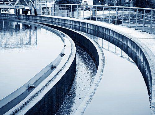 impianto di trattamento dell'acqua